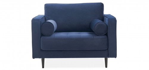 METSOFA Memphis Chair: Velvet Navy